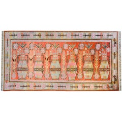 Wonderful Early 20th Century Pictorial Khotan Rug