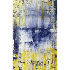 Abstract Painting by the Brazilian Artist Claudio Cardoso