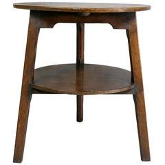 Regency Oak Cricket Table