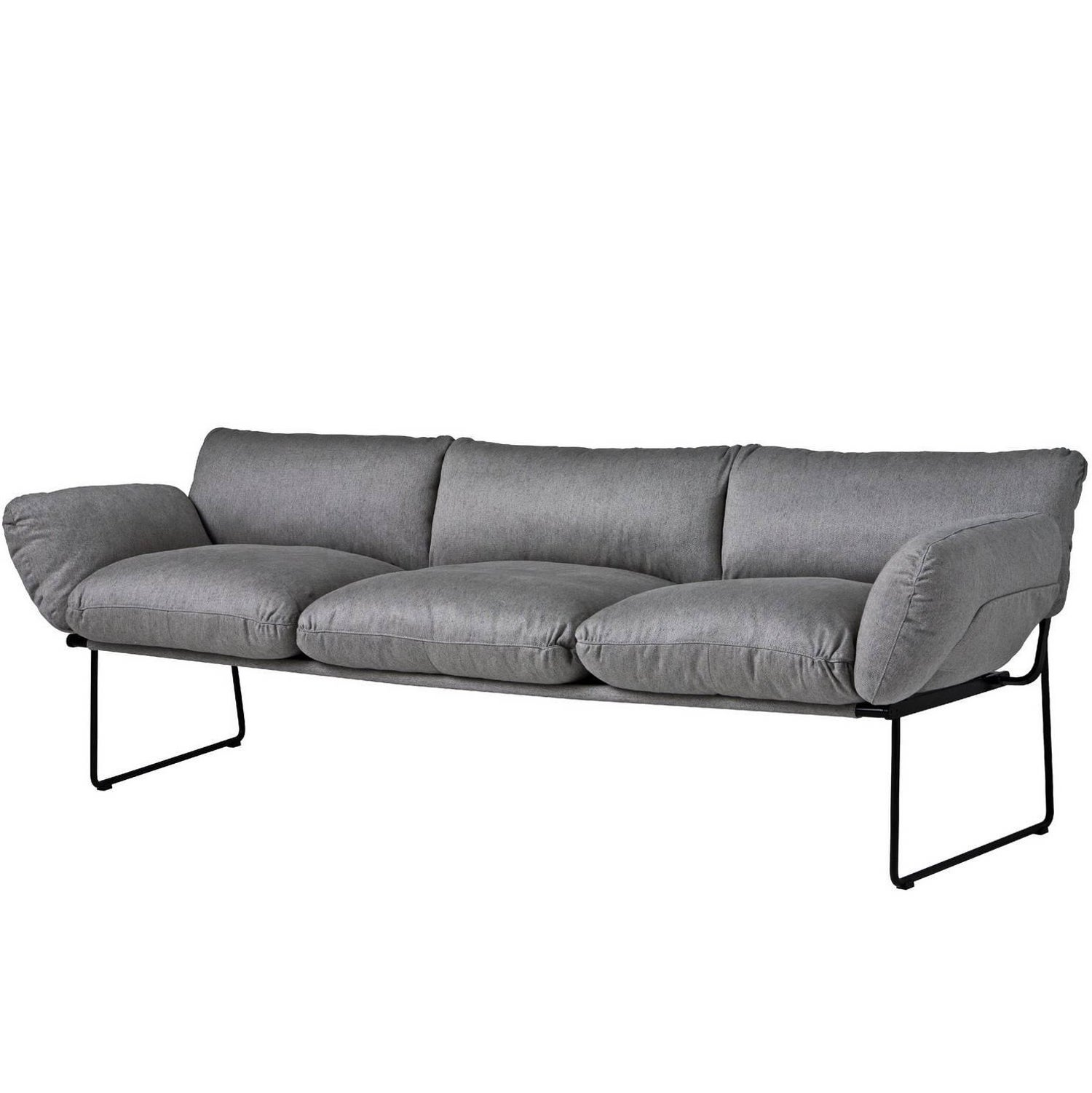 Elisa indoor three seat sofa designed by enzo mari for driade for elisa indoor three seat sofa designed by enzo mari for driade for sale at 1stdibs parisarafo Choice Image