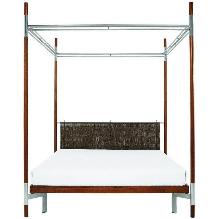 edward ii double canopy bed designed by antonia astori