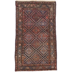 Antique Persian Hamadan Rug with Modern Style