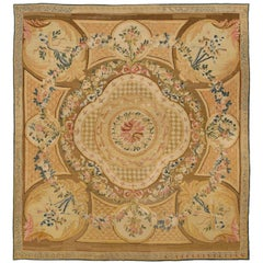 French Aubusson Rug, 1760