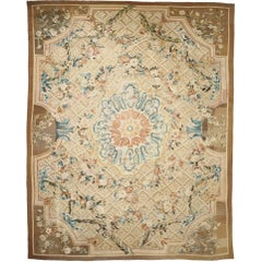 French Aubusson Rug, 1780