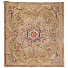 French Aubusson Rug, 1770