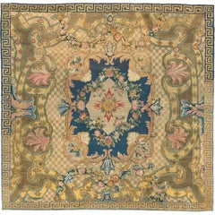 French Aubusson Pile Rug, 1760