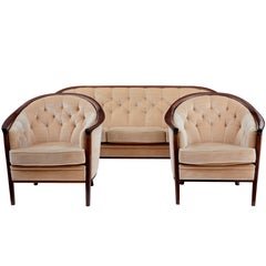 1960s, Swedish Andersson Three-Piece Suite