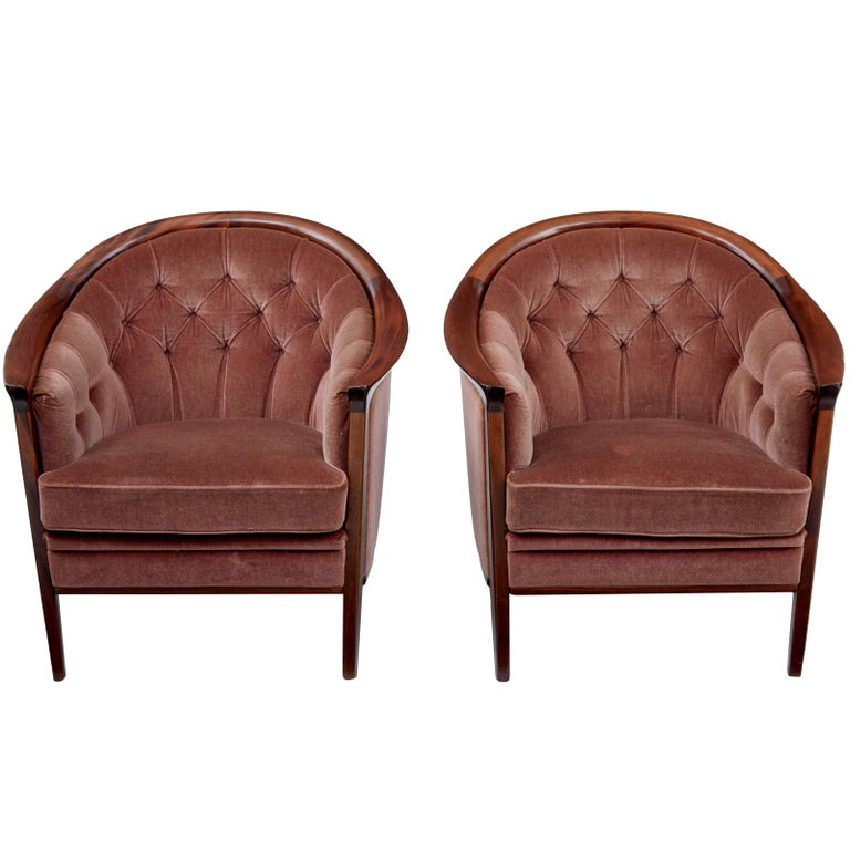 Pair of 1960s Swedish Andersson Armchairs