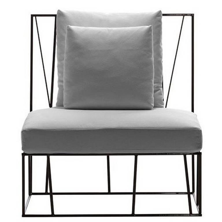 """""""Herve"""" Outdoor Chair Designed by Lievore Altherr for Driade For Sale"""
