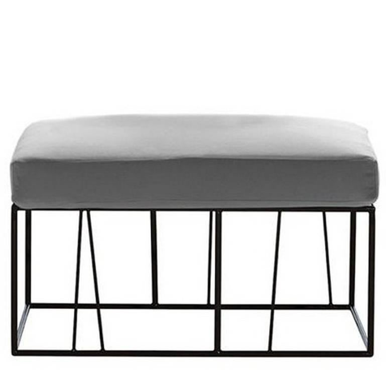 """Herve'"" Outdoor Ottoman/Table Designed by Lievore Altherr for Driade"
