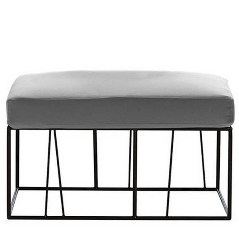 """Herve'"" Outdoor Ottoman/Table Designed by Lievore Altherr for Driade For Sale"
