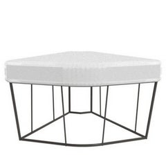 """Herve'"" Outdoor Table/Corner Element by Lievore Altherr for Driade"