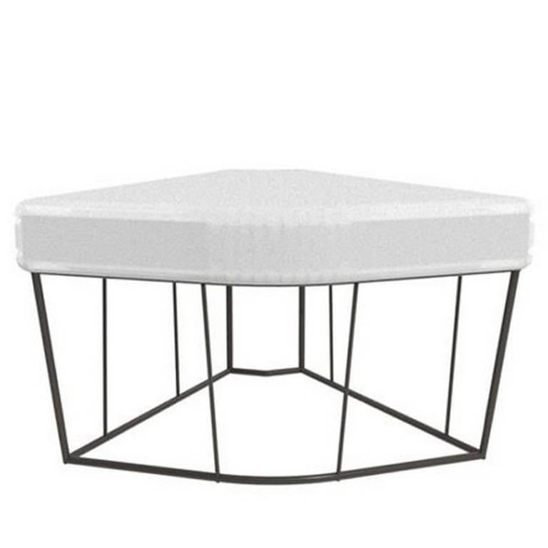 """""""Herve'"""" Outdoor Table/Corner Element by Lievore Altherr for Driade"""