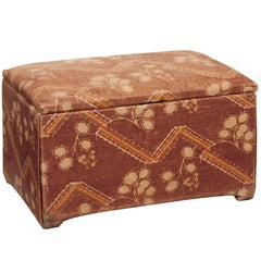 Art Deco Ottoman from the ITV Set the Halcyon