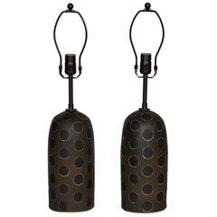 Matthew Ward Studio Ceramic Table Lamps