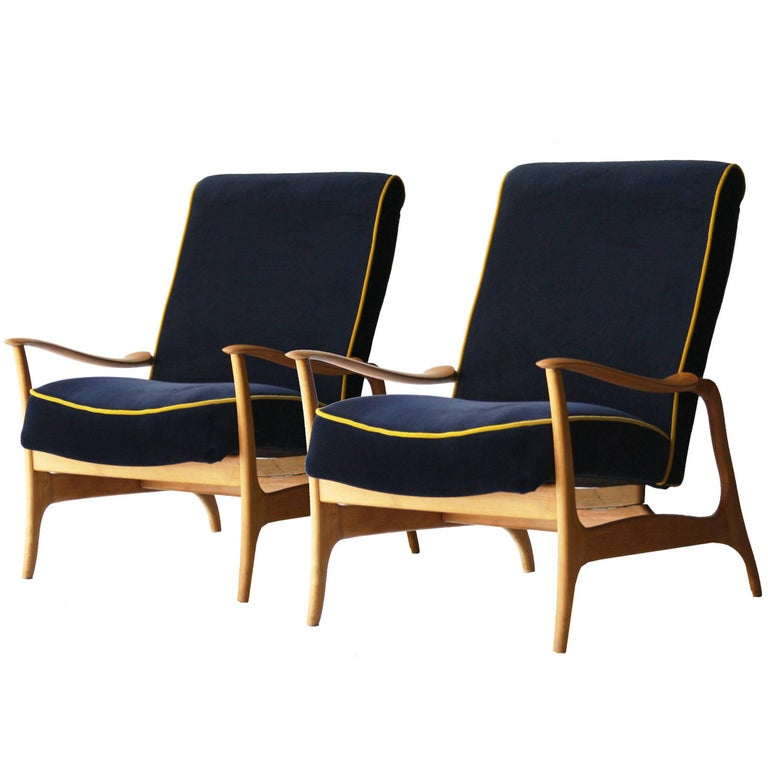 Pair of armchairs Italy, 1960