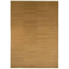 Coffee Colored Mohair Area Rug by Joseph Carini 10x14