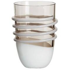 Chica Carlo Moretti Contemporary Mouth Blown Murano Glass Vase