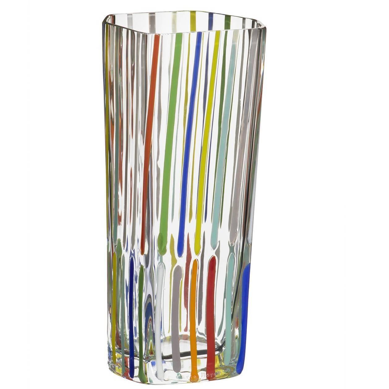 Rover Carlo Moretti Contemporary Murano Mouth Blown Glass Vase