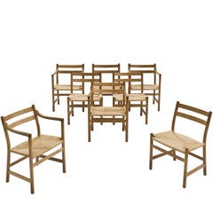 Kurt Ostervig Oak Dining Set for KP Møbler
