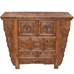 19th Century Chinese Country Chest with Secret Drawers