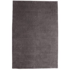 African Pattern Two Area Rug in Hand-Tufted Wool by Milton Glaser Large