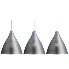 Lisa Johansson-Pape Silver '270' Perforated Metal Pendants