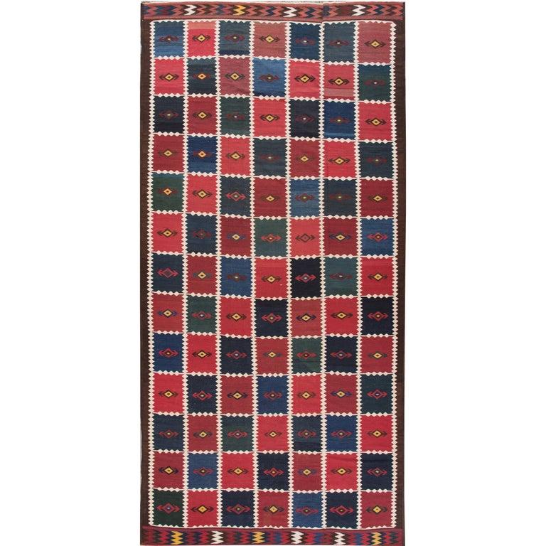 Vintage Persian Kilim Rug