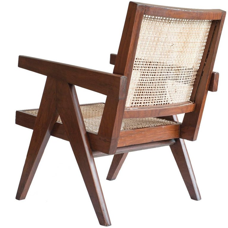 Pierre Jeanneret Easy Cane Chairs for Chandigarh PJ-SI-29-A