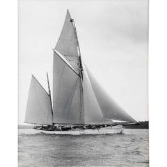 Early Silver Gelanin Photographic Print by Beken of Cowes