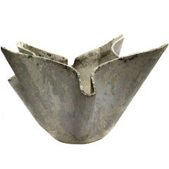 Folded Planter in the Style of Willy Guhl