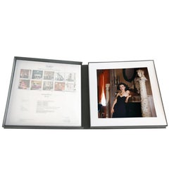 Paloma Picasso by Horst 1985, Portfolio - Ten Limited Matted Archival Prints -