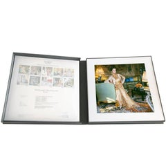 Marella Agnelli Portfolio box by Horst, ten Archival Matted Pigment Prints