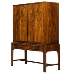 Master Cabinet Attributed to Kaare Klint and Produced by Cabinetmaker C.B Hansen