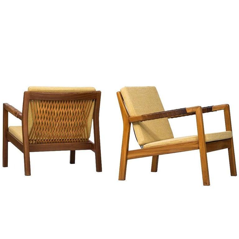 Carl Gustaf Hiort Af Ornäs Easy Chairs Model Trienna Produced in Finland