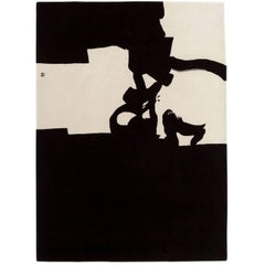 Collage 1966 Hand-Tufted Wool Area Rug by Eduardo Chillida