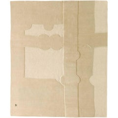 Gravitacion 1993 Handmade Wool and Mohair Rug by Eduardo Chillida