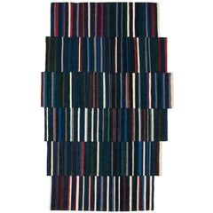Lattice One Hand-Loomed Afghan Wool Rug by Ronan & Erwan Bouroullec Large