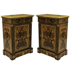 Pair of Exceptional Louis XVI Cabinets