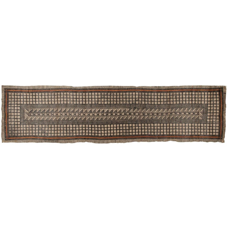 Mid-20th Century Tribal Tapa Cloth, Fiji