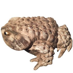 20th Century Wooden Frog