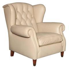 Poltrona Frau Leather Armchair