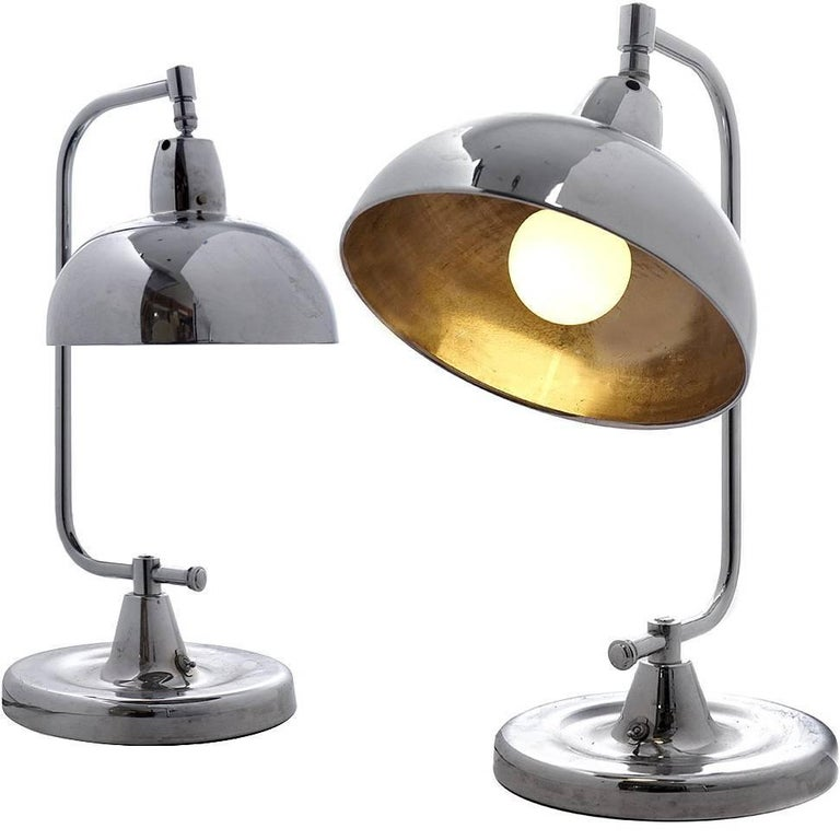 Pair of Apollo Jewelers Table Lamps