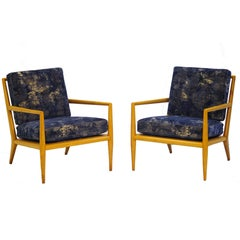 Pair of Vintage Robsjohn-Gibbings for Widdicomb Lounge Chairs