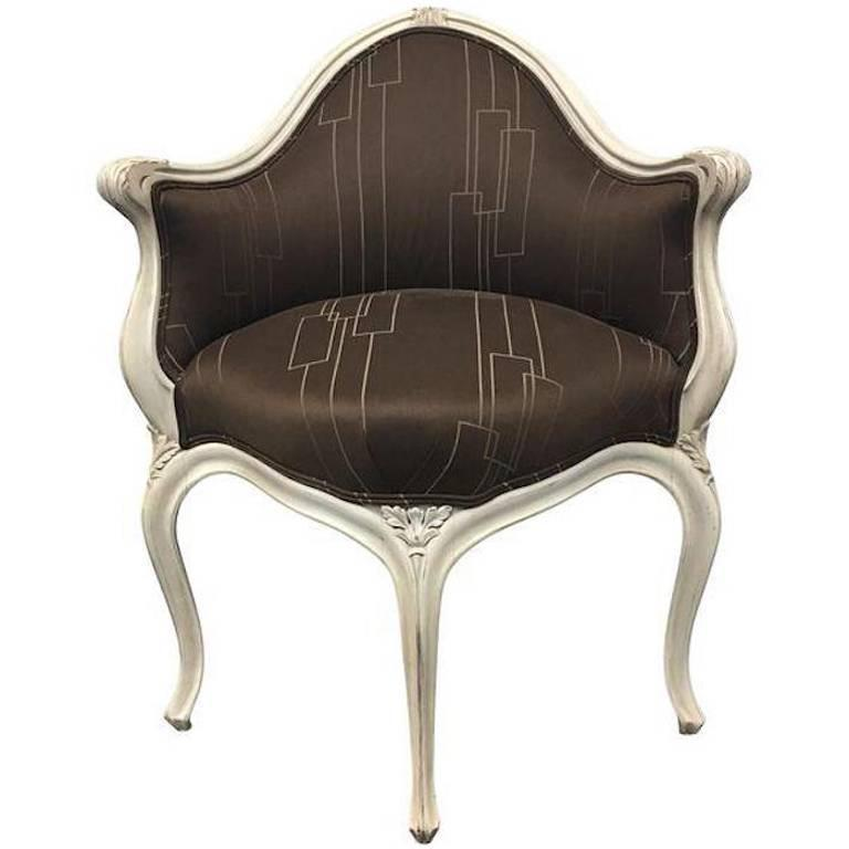 Art Nouveau Corner Chair At 1stdibs