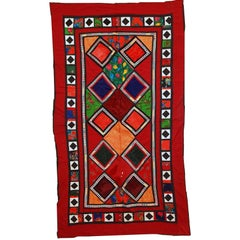 Handmade Vintage Uzbek Suzani Patchwork, 1960s, 1C46