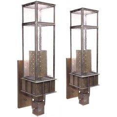 Frank Lloyd Wright Style Sconces