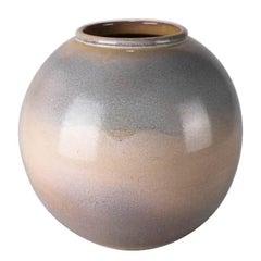 Mid-Century Modern Hand-Thrown Studio Pottery Desert Sands