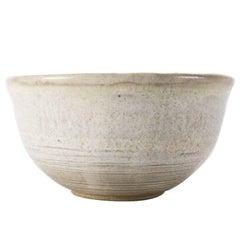 Mid-Century Modern Hand-Thrown Studio Pottery Bowl by Randy Webb