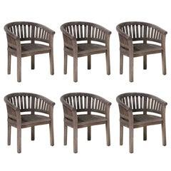 Teak Garden Chairs, circa 1950